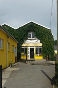 Entrance to Quince Honey Farm, South Molton.