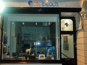 Echo Beach gallery at 4 Broad Street, Ilfracombe.